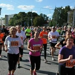 SEB Tallinna Maraton - Ingrid Teino (1175), Annika Teino (1176), Ulvi Loonurm (1554)