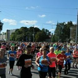 SEB Tallinna Maraton - Ene Veskus (1184), Johanna Leivo (1628), Bergljot Øfsteng (1646), Kaspar Kivilo (1866), Kristiina Toots (2671)