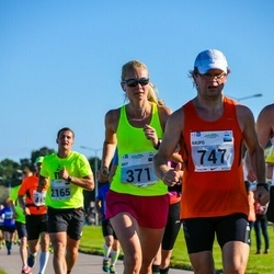 SEB Tallinna Maraton - Brit Rammul (371), Kaupo Kirikall (747)