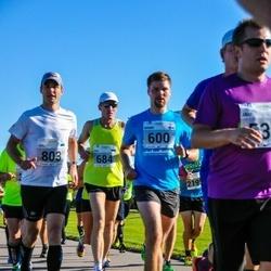 SEB Tallinna Maraton - Benno Ridala (600), Raul Metshein (684), Heiki Talvik (803)