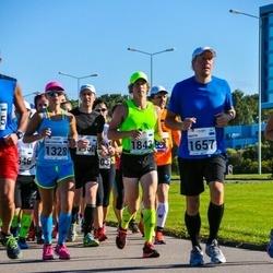 SEB Tallinna Maraton - Ann-Christine Allik (1328), Martin Bürkland (1657), Raiko Heide (1843)