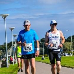 SEB Tallinna Maraton - Ari Kilpinen (289), Martin Morgan (474)