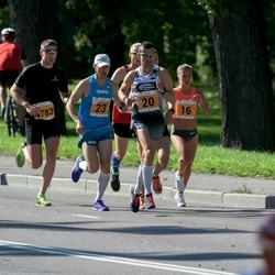 SEB Tallinna Maraton - Anastasia Kushnirenko (16), Tarmo Reitsnik (20), Indrek Mumm (23), Taavi Kaiv (4783)
