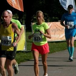 SEB Tallinna Maraton - Sirje Kink (821), Artur Rauhiainen (1939)