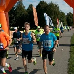 SEB Tallinna Maraton - Brent Pere (45), Margus Kirs (637)