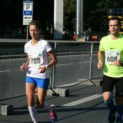 SEB Tallinna Maraton - Stenver Matt (608), Maret Volens (708)