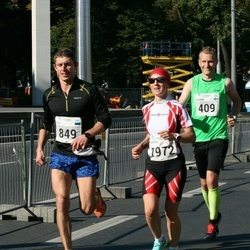 SEB Tallinna Maraton - Fredrik Byman (409), Priit Linnasmägi (849), Kristel Sillaots (1972)