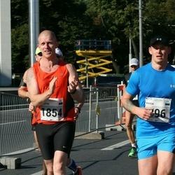 SEB Tallinna Maraton - Marek Aas (396), Martin Herem (1854)