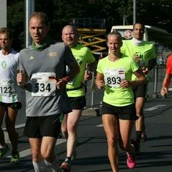 SEB Tallinna Maraton - Ailar Nirgi (122), Andre Petraudze (404), Matthias Behrend (534), Antra Dumbrovska (893)