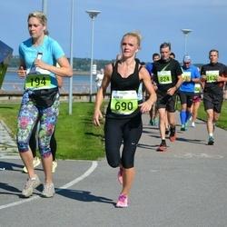 SEB Tallinna Maraton - Katriin Ivanov (194), Agnese Laktina (690)