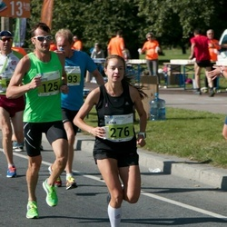 SEB Tallinna Maraton - Eerik Elenurm (101), Arttu Aaltonen (125), Ilona Marhele (276)