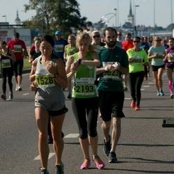SEB Tallinna Maraton - Madli Arula (1528), Anastasia Totmina (2193)