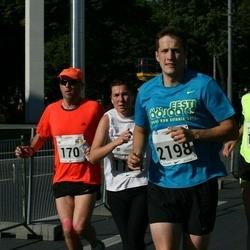SEB Tallinna Maraton - Tim Durant (170), Bret Schär (1616), Richard Pajuväli (2198)