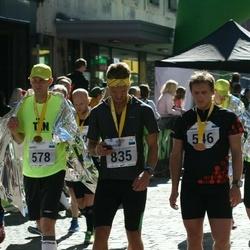 SEB Tallinn Marathon - Aimar Liiver (546), Marko Tooming (578), Christer Loob (835)