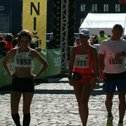 SEB Tallinna Maraton - Katrena Tenno (771), Rauno Õismaa (1520), Birgitti Pilvet (1893)