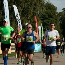 SEB Tallinna Maraton - Johannes Ütsik (982), Brice Gasnier (2456), Tanel Põllu (3177)