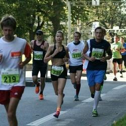 SEB Tallinna Maraton - Jüri-Andreas Järviste (467), Anda Valtere (738)