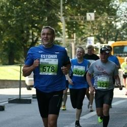 SEB Tallinna Maraton - Heigo Pihlak (265), Anatoli Dren (322), Ragnar Kits (678)