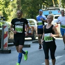SEB Tallinna Maraton - Agnese Laktina (690), Taavi Kasela (3172)