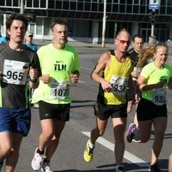 SEB Tallinna Maraton - Aleksandr Golev (107), Artur Rauhiainen (1939)