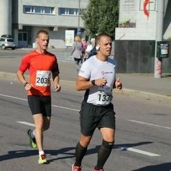 SEB Tallinna Maraton - Andre Lall (1330), Kaarel Kööp (2035)