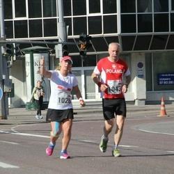 SEB Tallinna Maraton - Anna Metrycka (1028), Jacek Weder (1043)