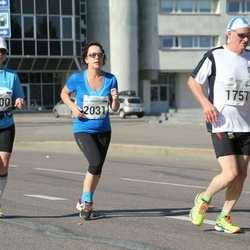 SEB Tallinna Maraton - Ülle Suursaar (1100), Harri Arola (1757), Aet Kull (2031)