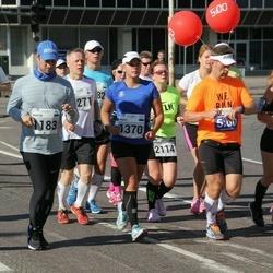 SEB Tallinna Maraton - Martin Kukk (1183), Margit Partei (1370), Mait Mikkelsaar (1917), Arro Kati (2114)