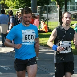 SEB Tallinna Maraton - Benno Ridala (600), Randel Mets (1606)