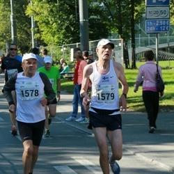 SEB Tallinna Maraton - Arto Kivioja (1578), Kari Ala-Honkola (1579)