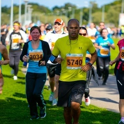 SEB Tallinna Maraton - Annika Peterson (3034), Santos Jorge Dos (5740)