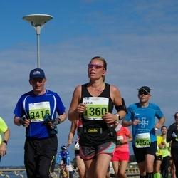 SEB Tallinna Maraton - Katja Tiainen (1360), Anatoli Ivanov (3415)