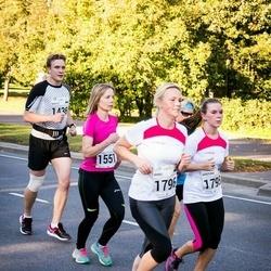 SEB Tallinna Maraton - Marcus Jürison (1436), Terhi Jantunen (1551), Kristiina Viira (1795), Maris Aagver (1796)