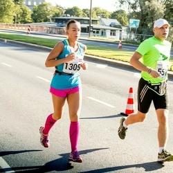 SEB Tallinna Maraton - Darius Kanevicius (551), Evelina Parhomenko (1305)
