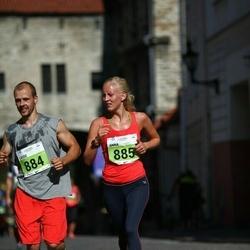 SEB Tallinna Maraton - Lasse Hiltunen (884), Anna Hiltunen (885)