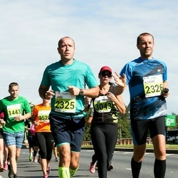 SEB Tallinna Maraton - Ago Veskimäe (1443), Janek Zupsman (2325), Eigirdas Bieksa (2326), Helis Kaukver (3043)