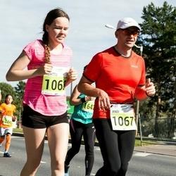 SEB Tallinna Maraton - Andi Piliste (1067), Kerttu Piliste (1068)