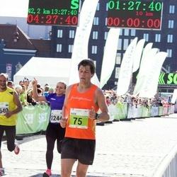 SEB Tallinna Maraton - Radek Küttis (75), Anni Adamson (1244), Tarvo Nurmeots (1640)