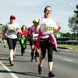 SEB Tallinna Maraton - Brenda Edovald (2221), Marina Rudõk (2374)