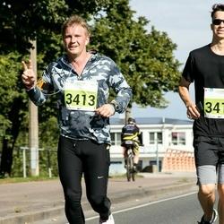 SEB Tallinna Maraton - Artsem Drobat (3412), Eigo Saare (3413)