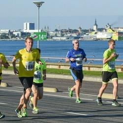 SEB Tallinna Maraton - Mart Luik (493), Juha Palenius (777), Arles Taal (1791), Kaupo Tiislär (1846)