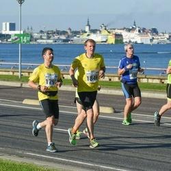 SEB Tallinna Maraton - Mart Luik (493), Arles Taal (1791), Kaupo Tiislär (1846)