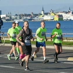 SEB Tallinna Maraton - Tanel Vichterpal (971), Ando Mesi (1596), Valdur Raak (2117)