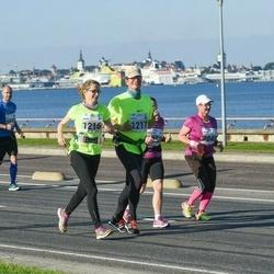 SEB Tallinna Maraton - Jaana Lehtimäki (1216), Kyösti Lempa (1217), Ago Sampka (1639)