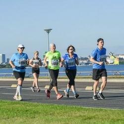 SEB Tallinna Maraton - Ülle Suursaar (1100), Priit Gross (1273), Anne-Ly Lään (1848), Aet Kull (2031)