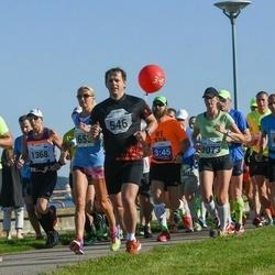 SEB Tallinn Marathon - Aimar Liiver (546), Avo Kaasik (679), Liina Silluste (2073)