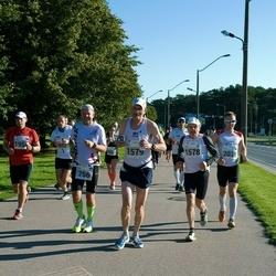 SEB Tallinna Maraton - Agur Jõgi (756), Arto Kivioja (1578), Kari Ala-Honkola (1579), Siim Saidla (2038)