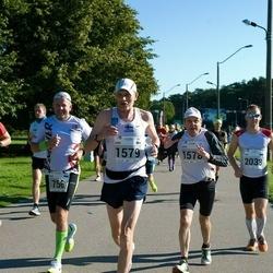 SEB Tallinna Maraton - Arto Kivioja (1578), Kari Ala-Honkola (1579), Siim Saidla (2038)