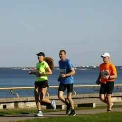 SEB Tallinna Maraton - Jouni Laurikainen (573), Jukka Hakala (632), Bret Schär (1616)