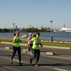 SEB Tallinna Maraton - Mirella Valkkinen (1257), Heli Lahdensuo (1259)